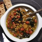 NOT THE USUAL SOUP or rather COUNTRYSIDE ROMAN MINESTRONE SOUP